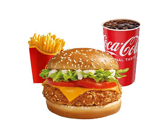 McZestaw Veggie Burger