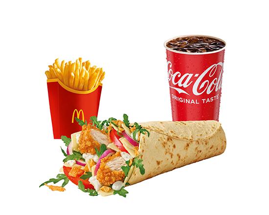 McWrap® Supreme Crispy Chicken Caesar Zestaw
