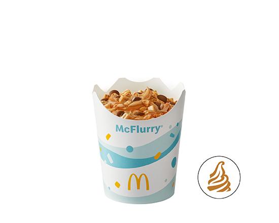 McFlurry® o smaku słonego karmelu z posypką Twix®